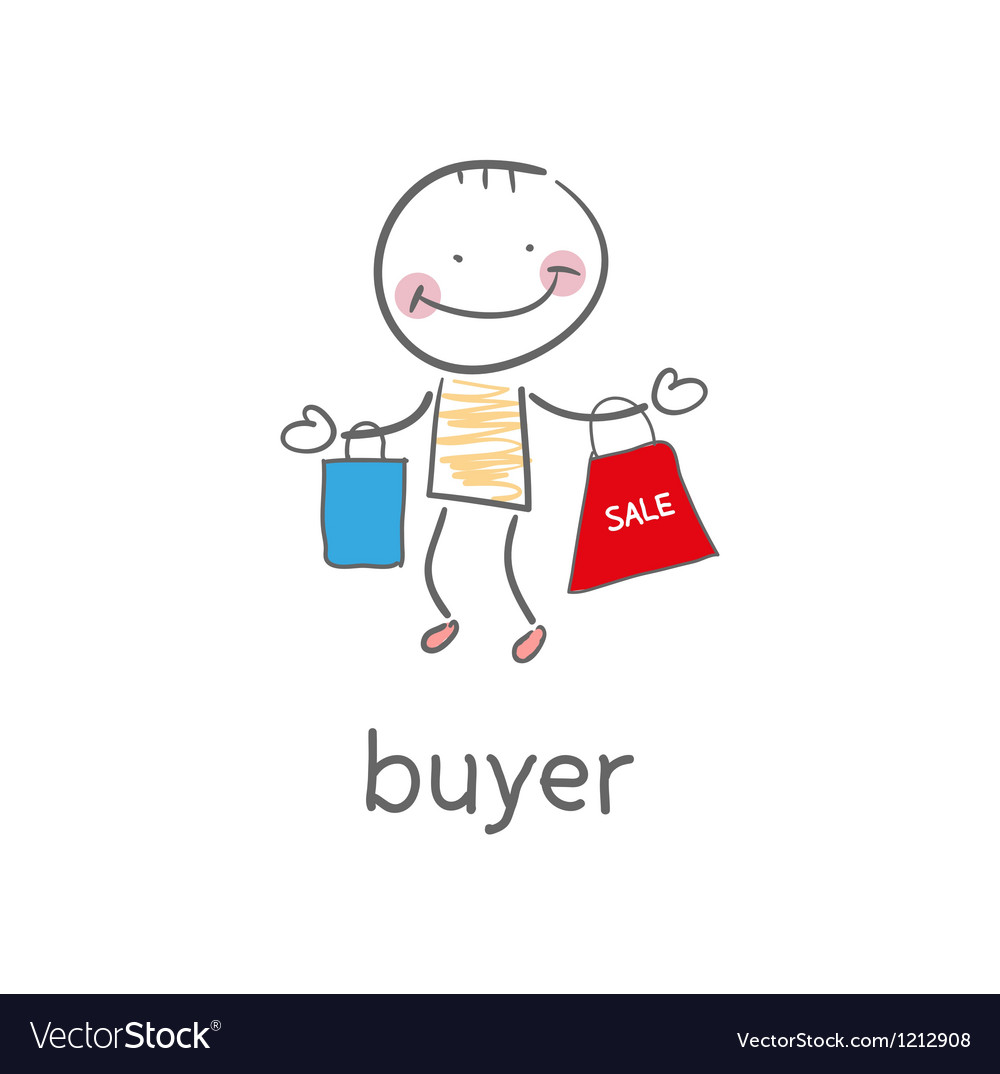 Buyer vector | Price: 1 Credit (USD $1)