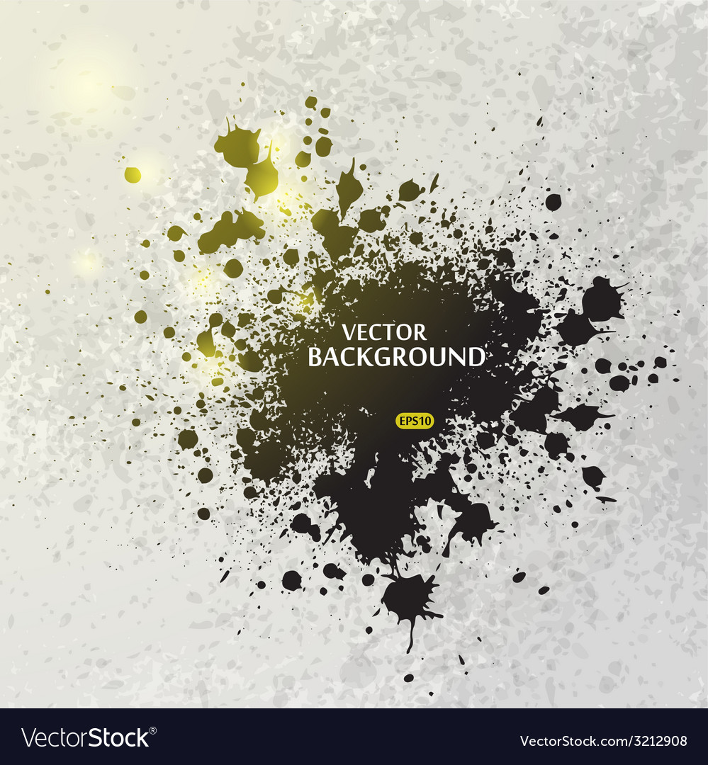 Ink blots splash background vector | Price: 1 Credit (USD $1)