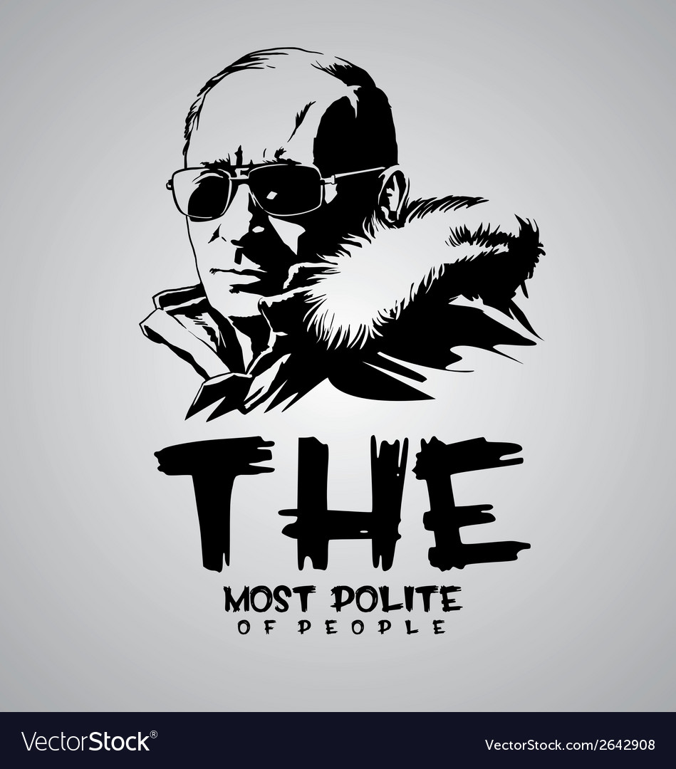 The most polite vector | Price: 1 Credit (USD $1)