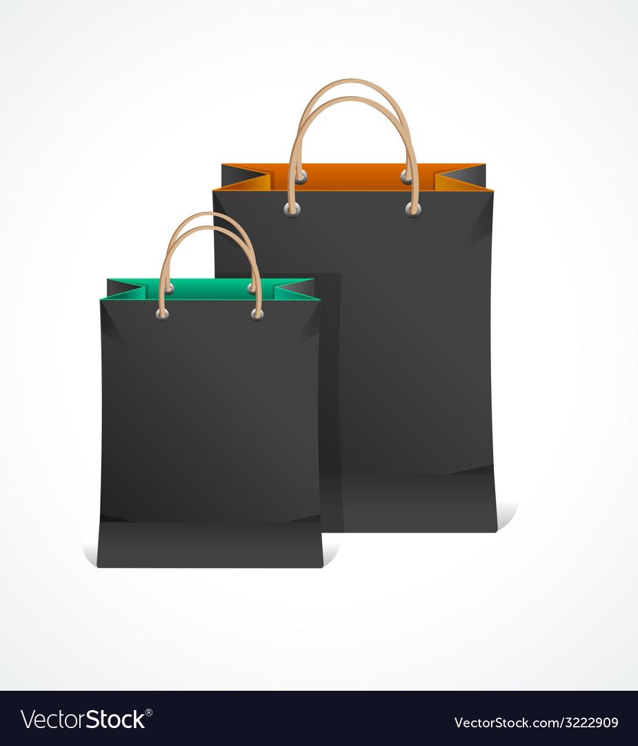 Black paper bag vector   Price: 1 Credit (USD $1)