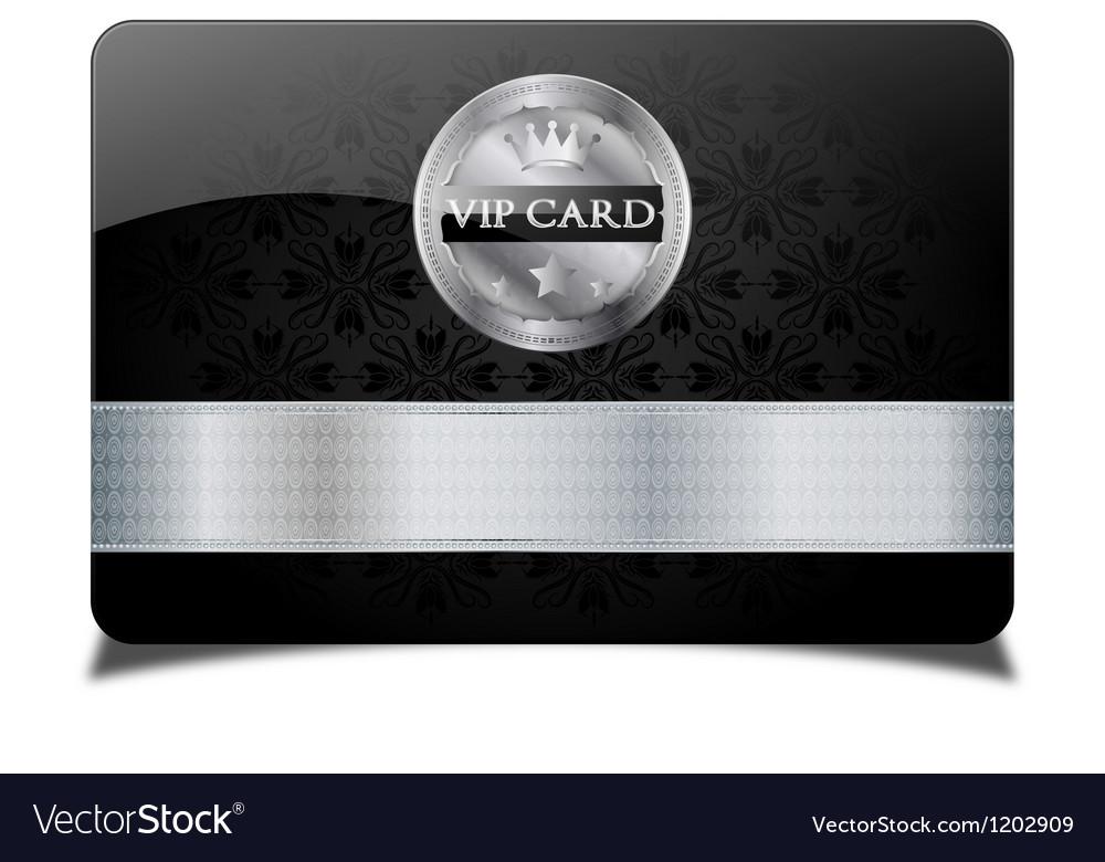 Black vip card vector | Price: 1 Credit (USD $1)