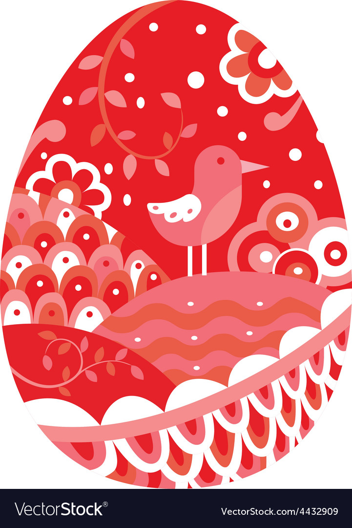 Easter egg vector | Price: 1 Credit (USD $1)
