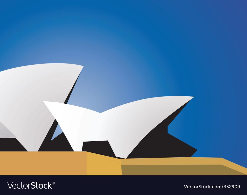 Opera house vector | Price: 1 Credit (USD $1)