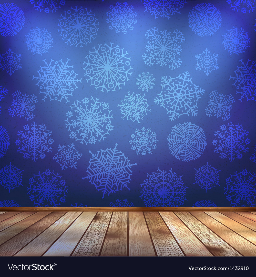 Frozen interior christmas background eps 10 vector | Price: 1 Credit (USD $1)