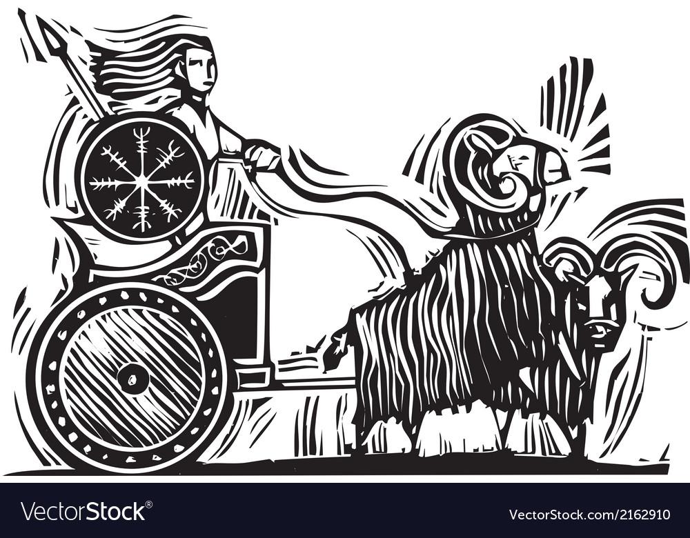 Norse goddess frigg vector | Price: 3 Credit (USD $3)