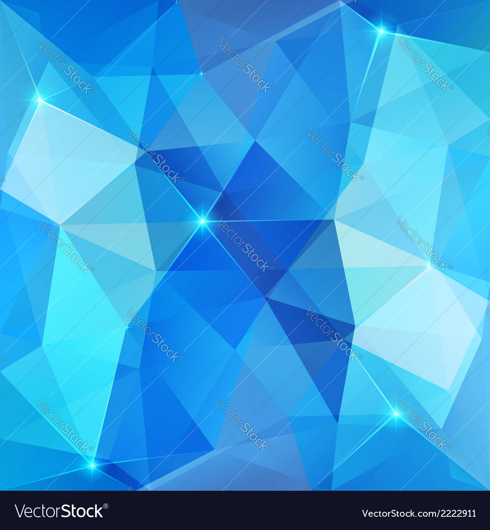 Blue abstract shining ice background vector | Price: 1 Credit (USD $1)