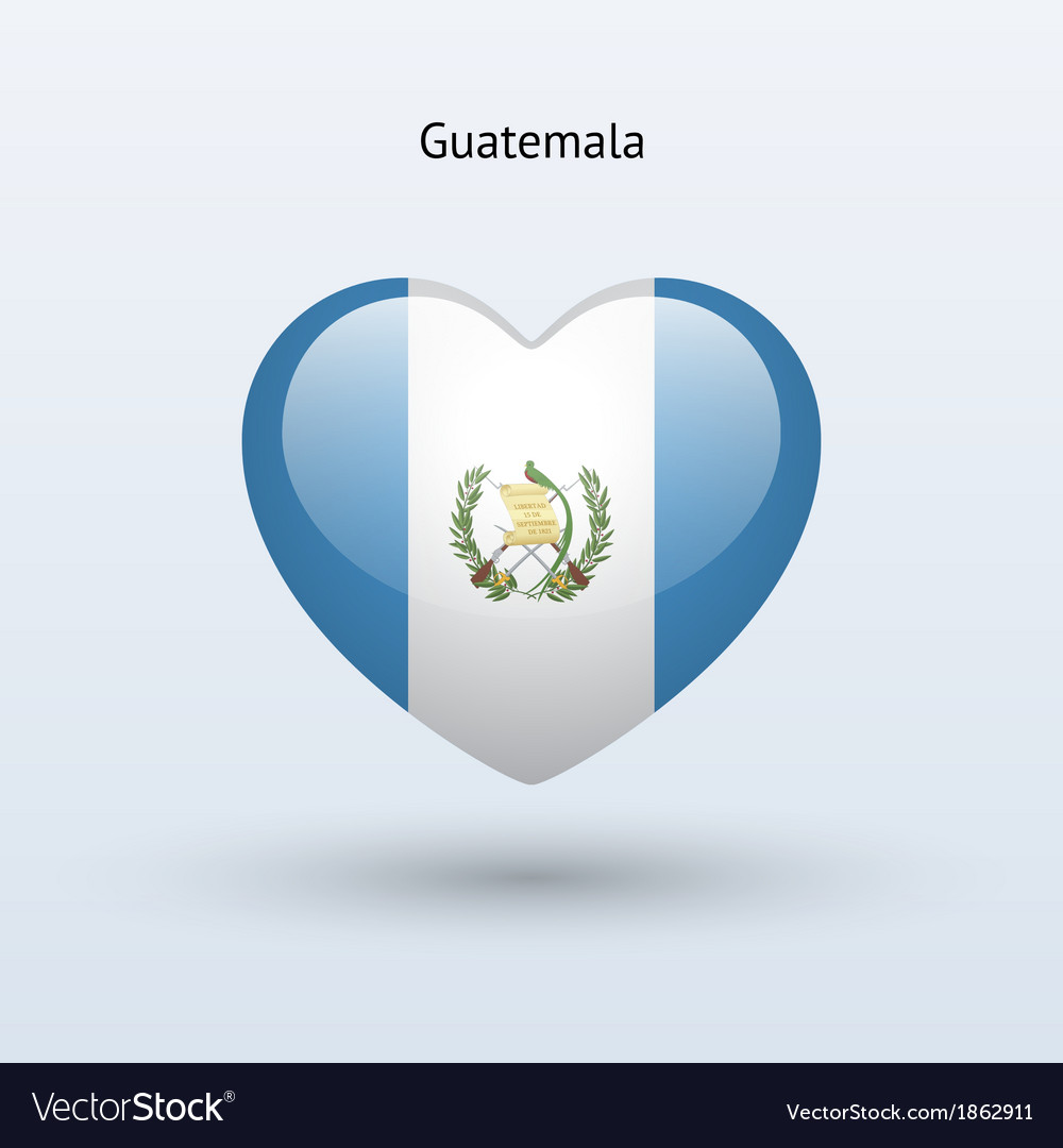 Love guatemala symbol heart flag icon vector   Price: 1 Credit (USD $1)