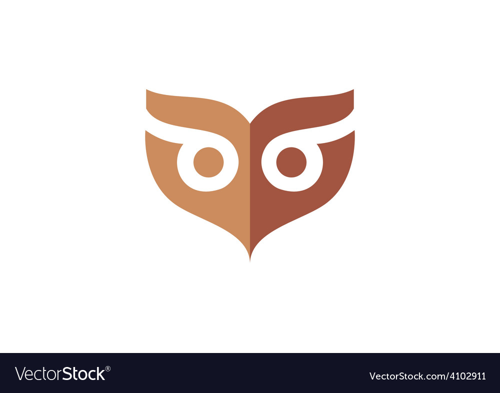 Owl mask abstract logo vector   Price: 1 Credit (USD $1)