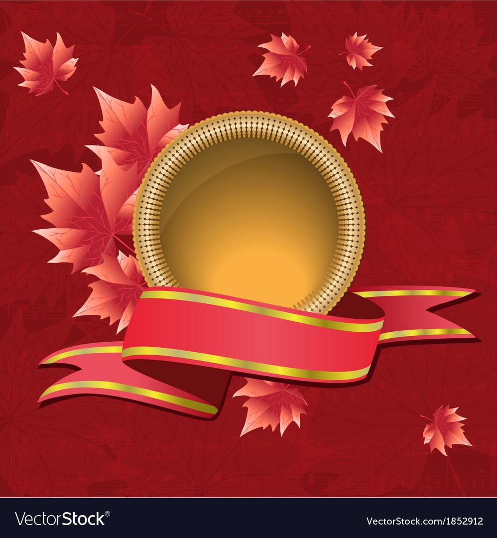 Autumnal design vector | Price: 1 Credit (USD $1)