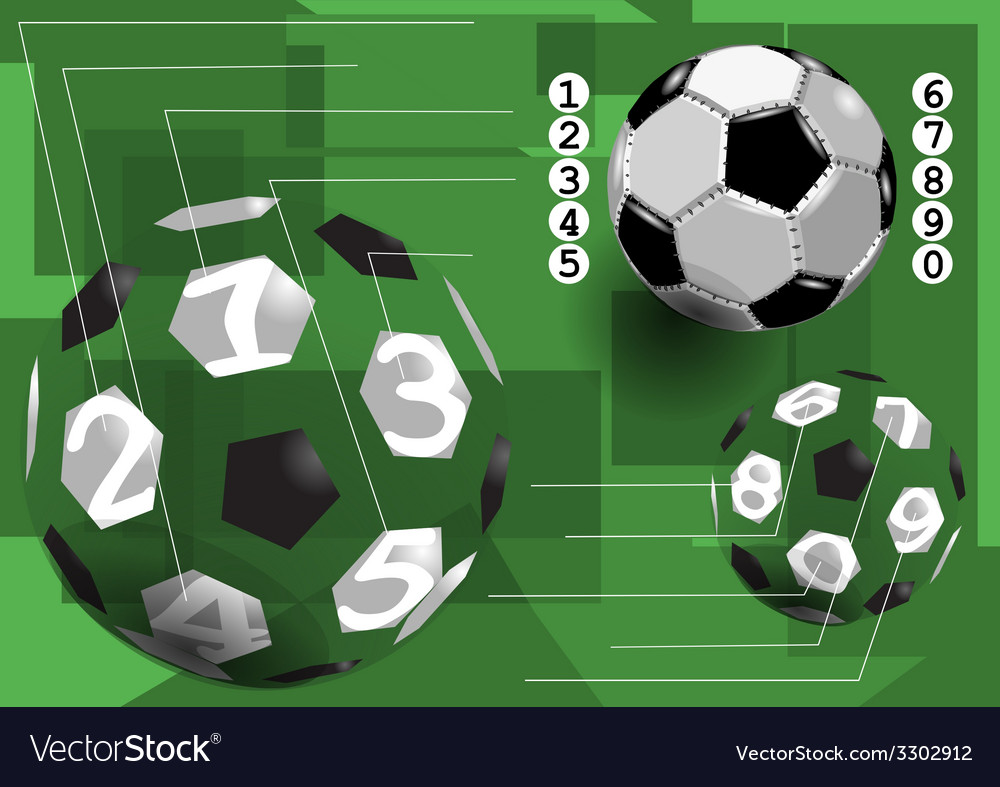 Football infographic vector | Price: 1 Credit (USD $1)