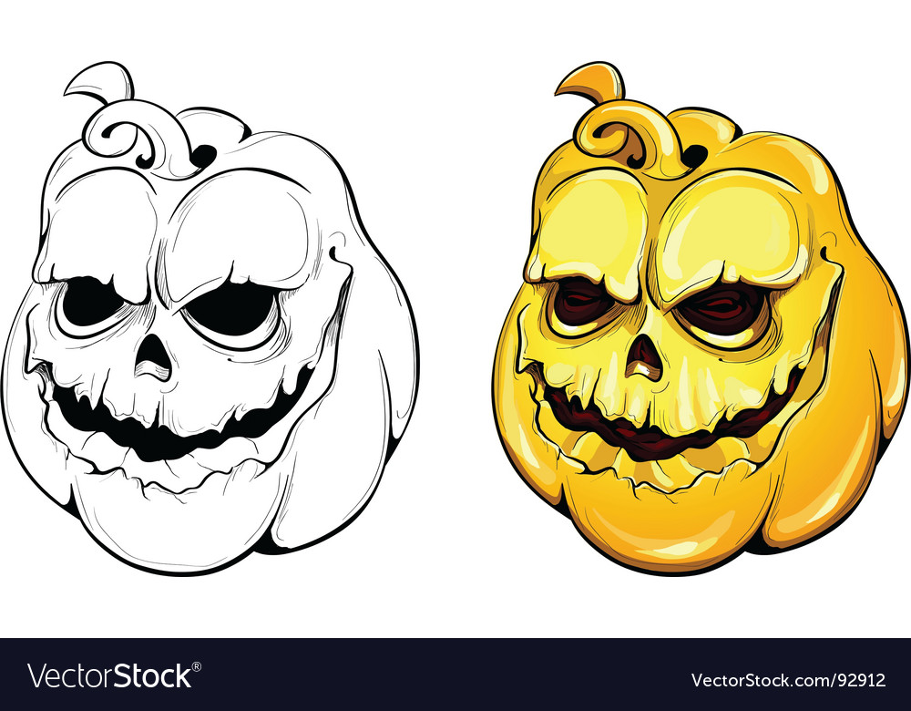Pumpkins vector | Price: 1 Credit (USD $1)