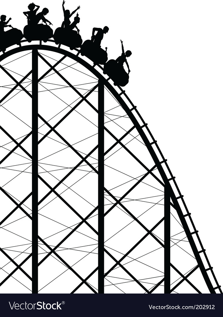 Rollercoaster vector | Price: 1 Credit (USD $1)