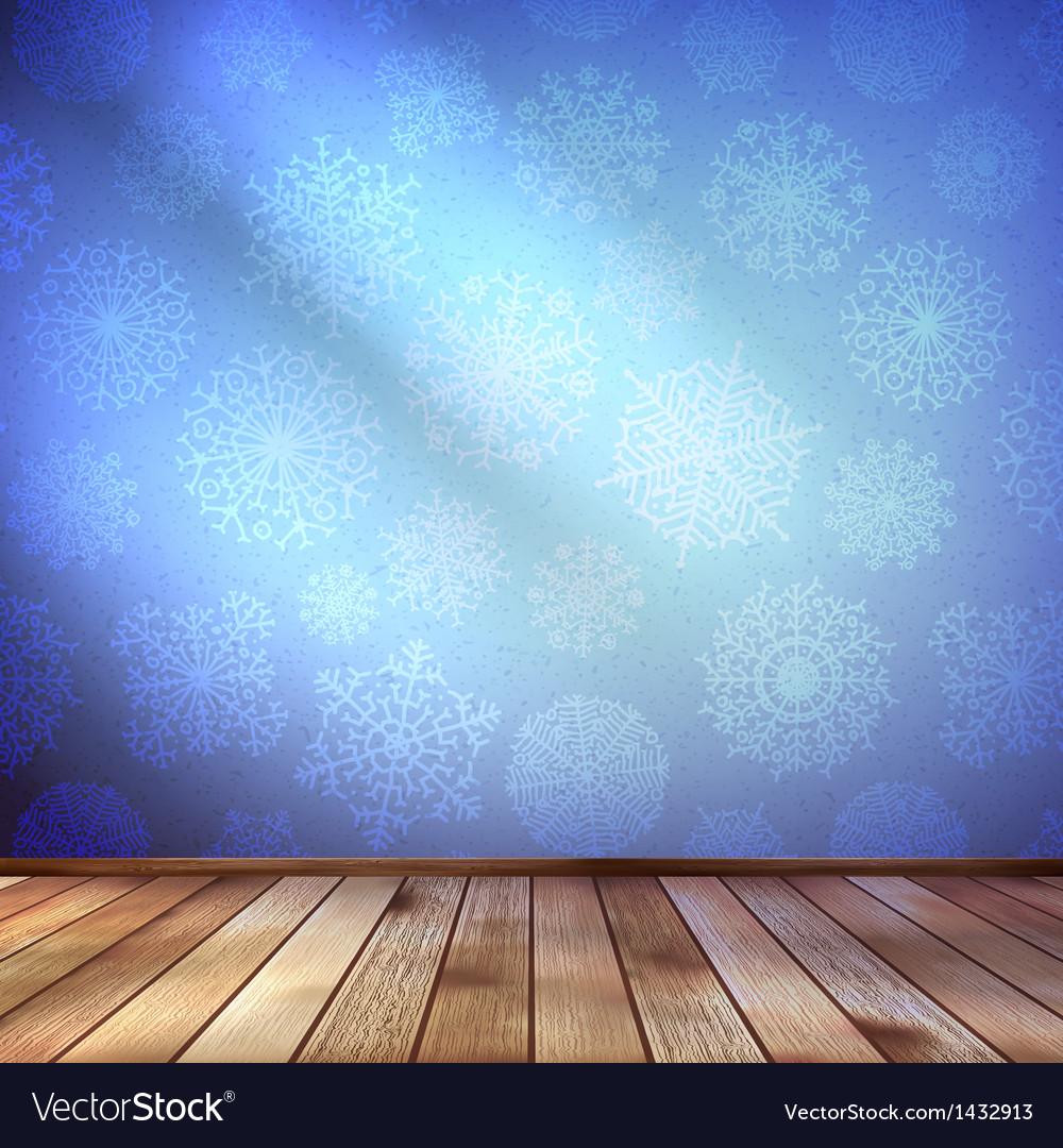 Christmas decor blue bright eps 10 vector | Price: 1 Credit (USD $1)