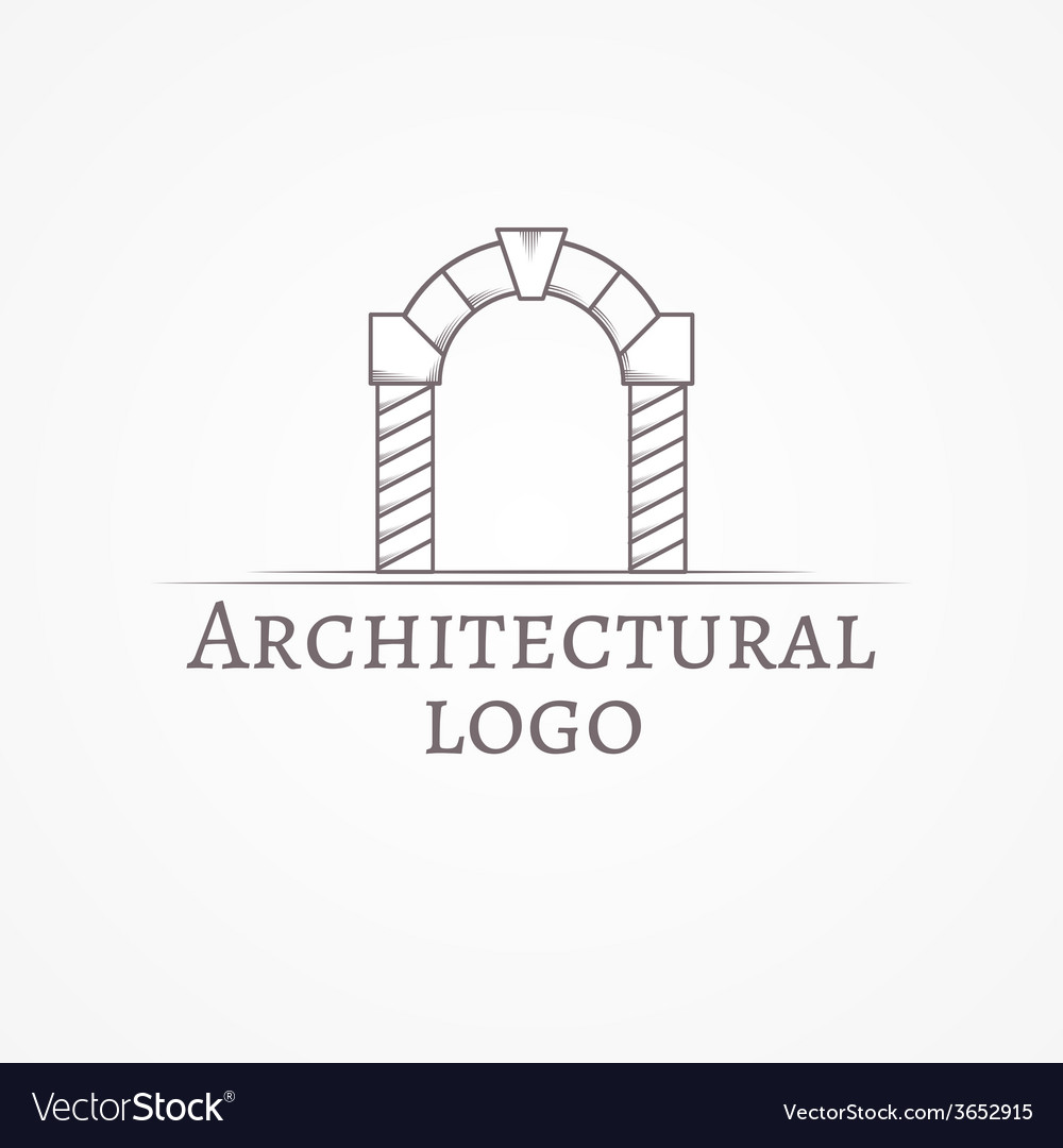 Circle arch icon with text vector | Price: 1 Credit (USD $1)