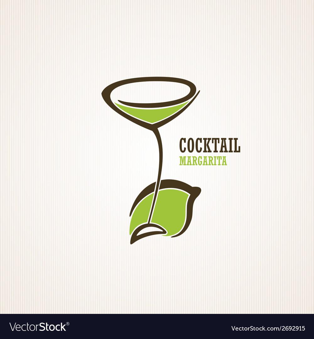 Margarita cocktail vector | Price: 1 Credit (USD $1)