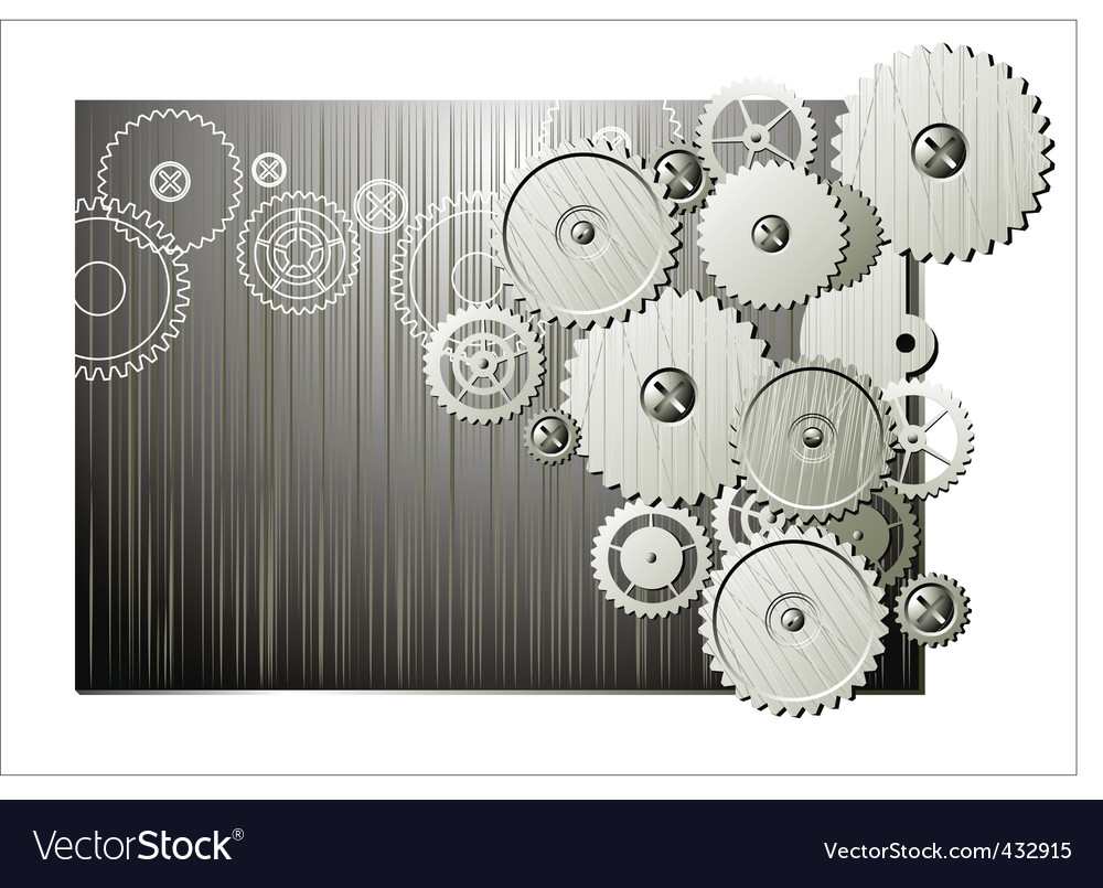 Mechanical wheels vector | Price: 1 Credit (USD $1)