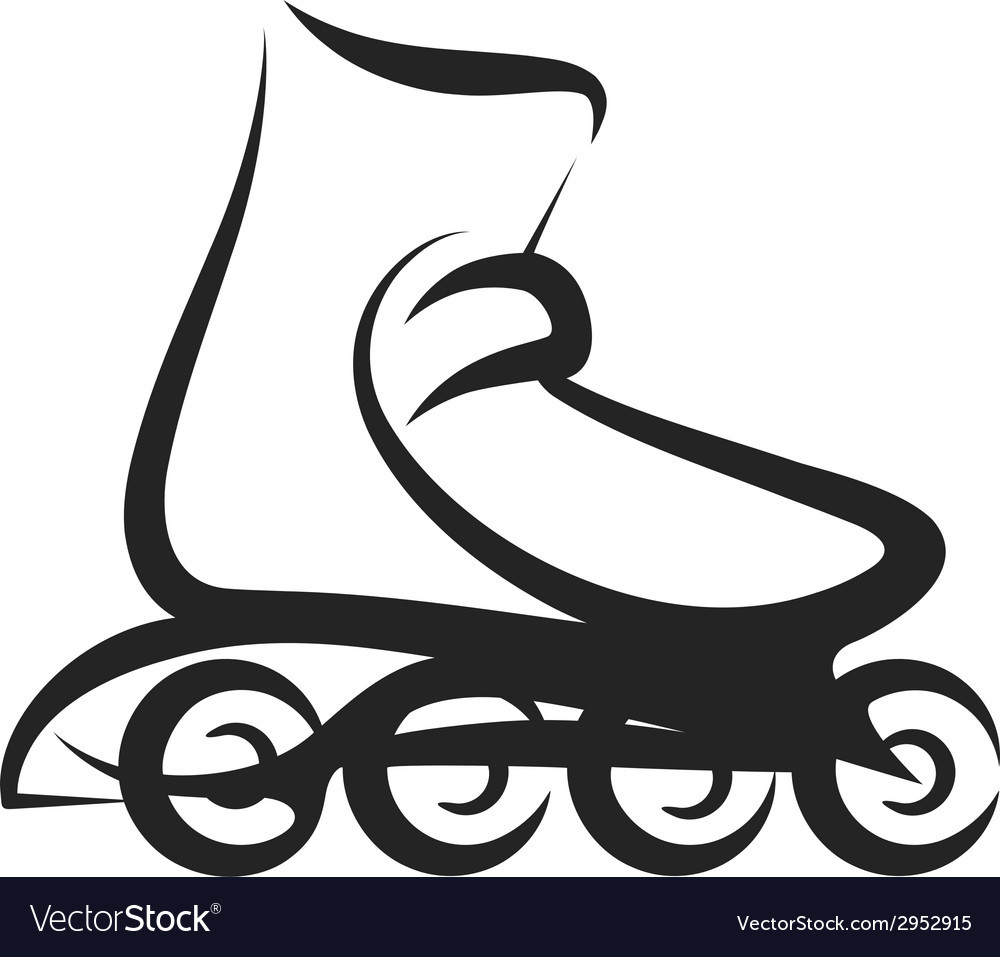 Roller skate vector | Price: 1 Credit (USD $1)