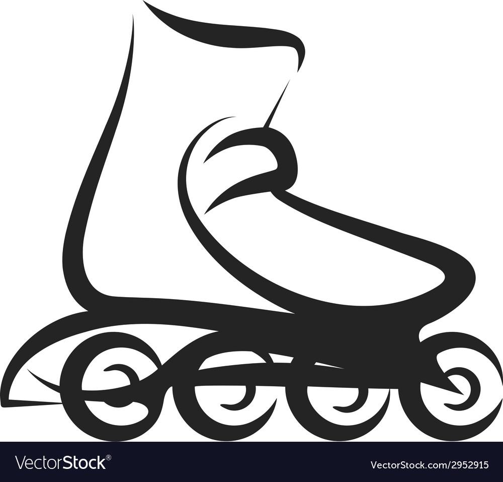 Roller skate vector | Price: 1 Credit (USD $1)