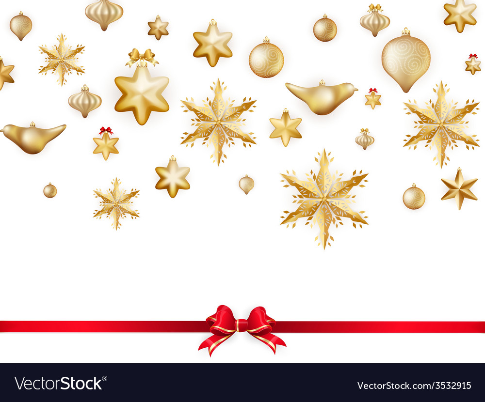 White isolated card with christmas balls eps 10 vector | Price: 1 Credit (USD $1)