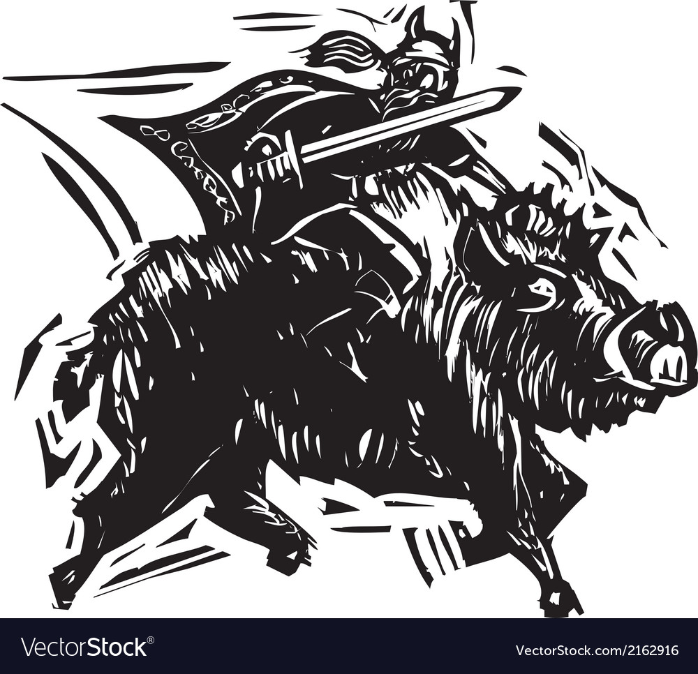 Norse god frey vector | Price: 3 Credit (USD $3)
