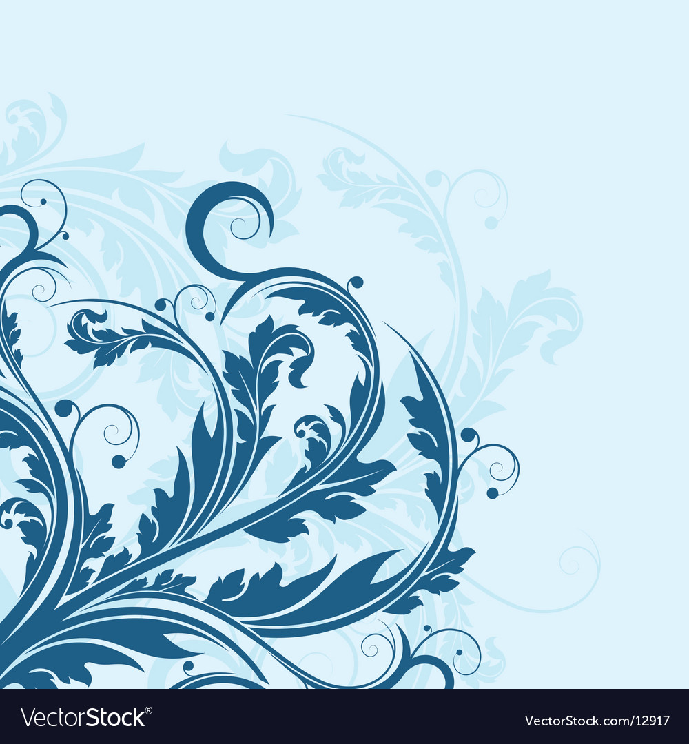 Floral designs vector | Price: 1 Credit (USD $1)