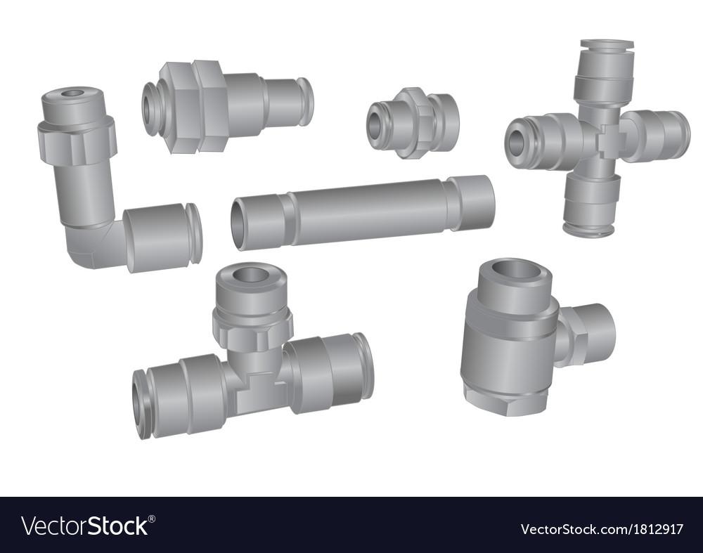 Plastic tube vector | Price: 1 Credit (USD $1)
