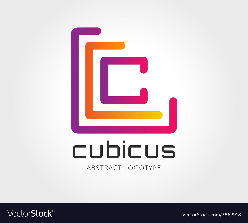 Abstract copyright logo template for vector | Price: 1 Credit (USD $1)