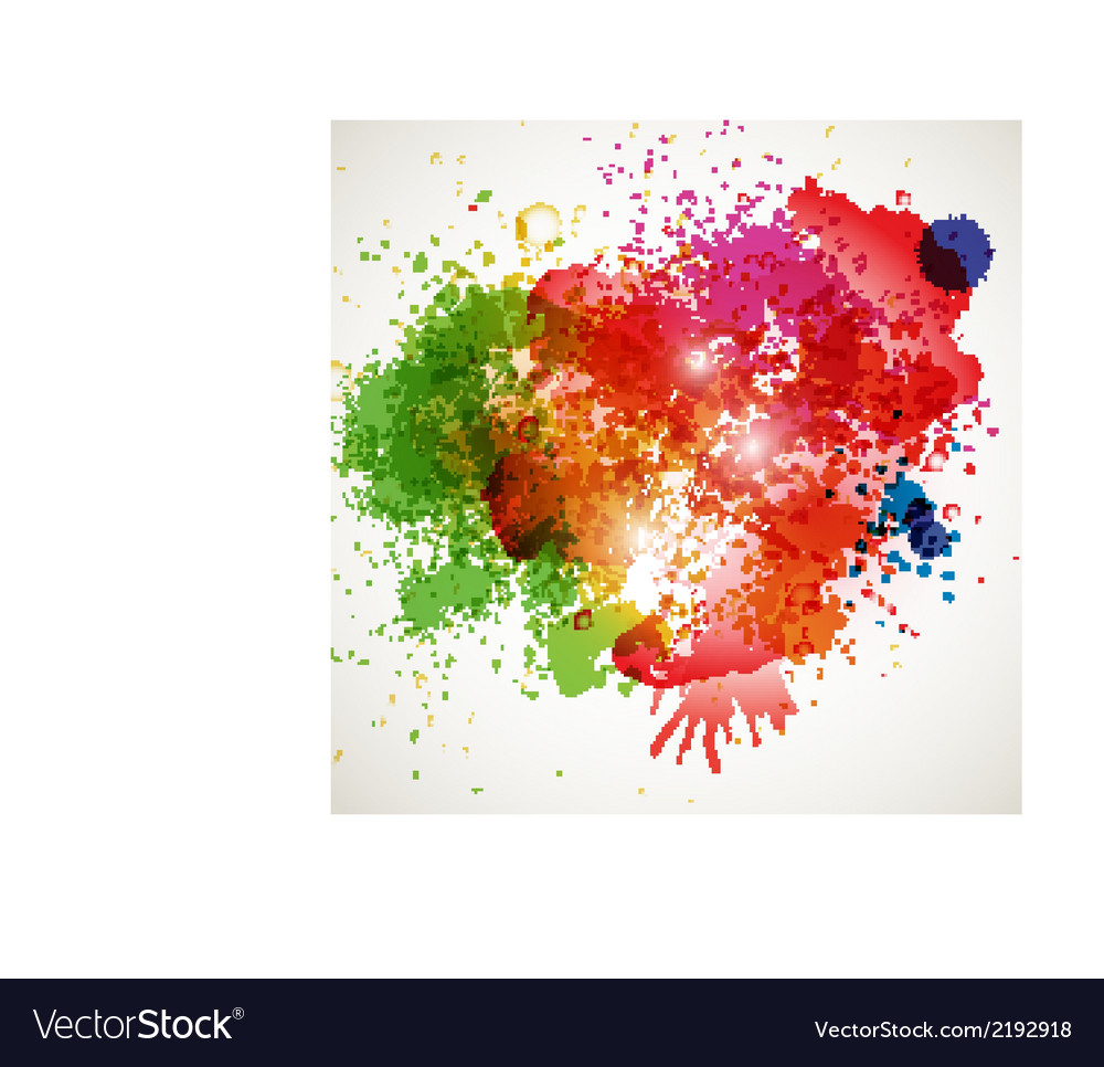 Abstract spots background with place for your text vector | Price: 1 Credit (USD $1)