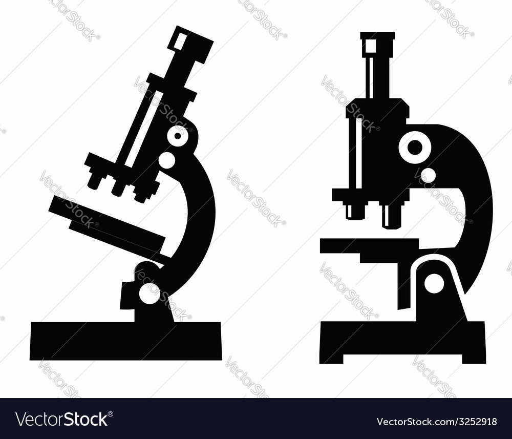 Microscope icon vector | Price: 1 Credit (USD $1)
