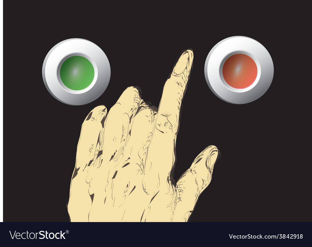 Push buttons vector | Price: 1 Credit (USD $1)