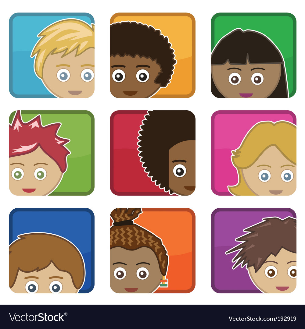 Kids icons vector   Price: 1 Credit (USD $1)