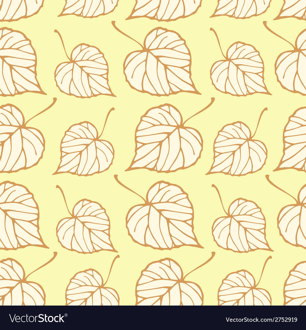 Seamless pattern with falling leaves vector   Price: 1 Credit (USD $1)