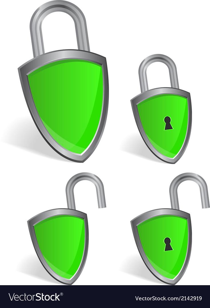 Shield - security concept vector | Price: 1 Credit (USD $1)