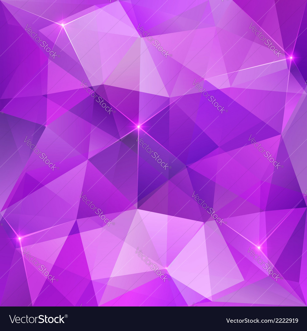 Violet crystal abstract background vector | Price: 1 Credit (USD $1)