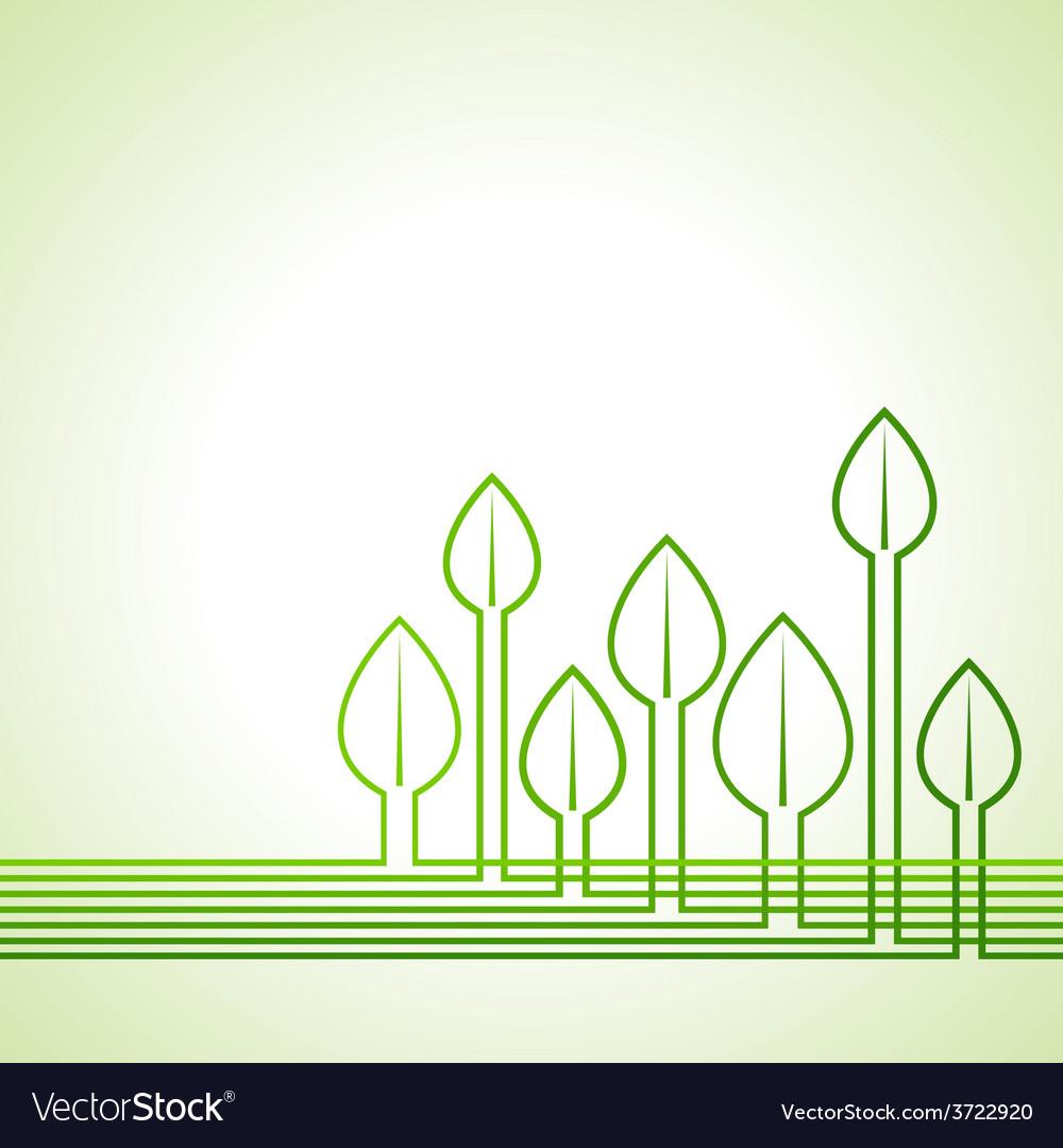 Ecology concept - leaf background vector   Price: 1 Credit (USD $1)