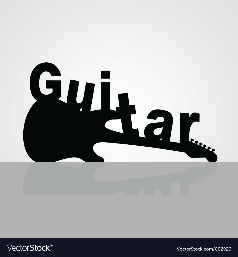 Guitar6 vector | Price: 1 Credit (USD $1)