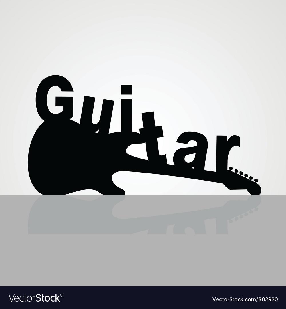 Guitar6 vector | Price: 1 Credit (USD $1)