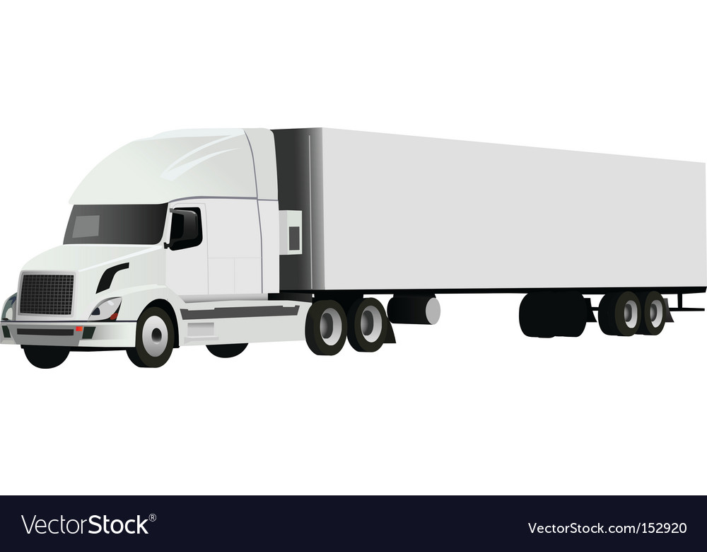 Truck vector | Price: 3 Credit (USD $3)