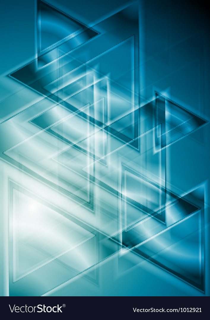 Blue geometrical background vector | Price: 1 Credit (USD $1)