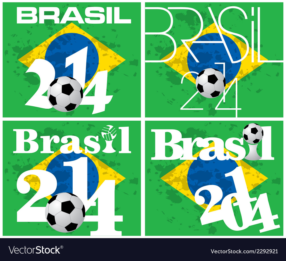 Brasil 2014 football championship vector | Price: 1 Credit (USD $1)