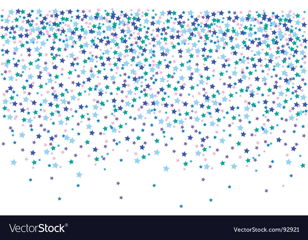 Confetti illustration vector | Price: 1 Credit (USD $1)