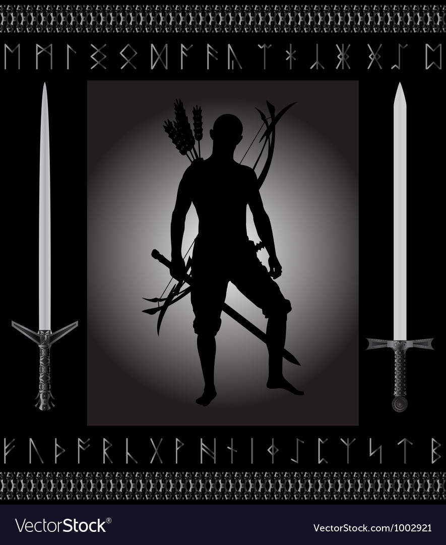 Fantasy hunter vector   Price: 1 Credit (USD $1)