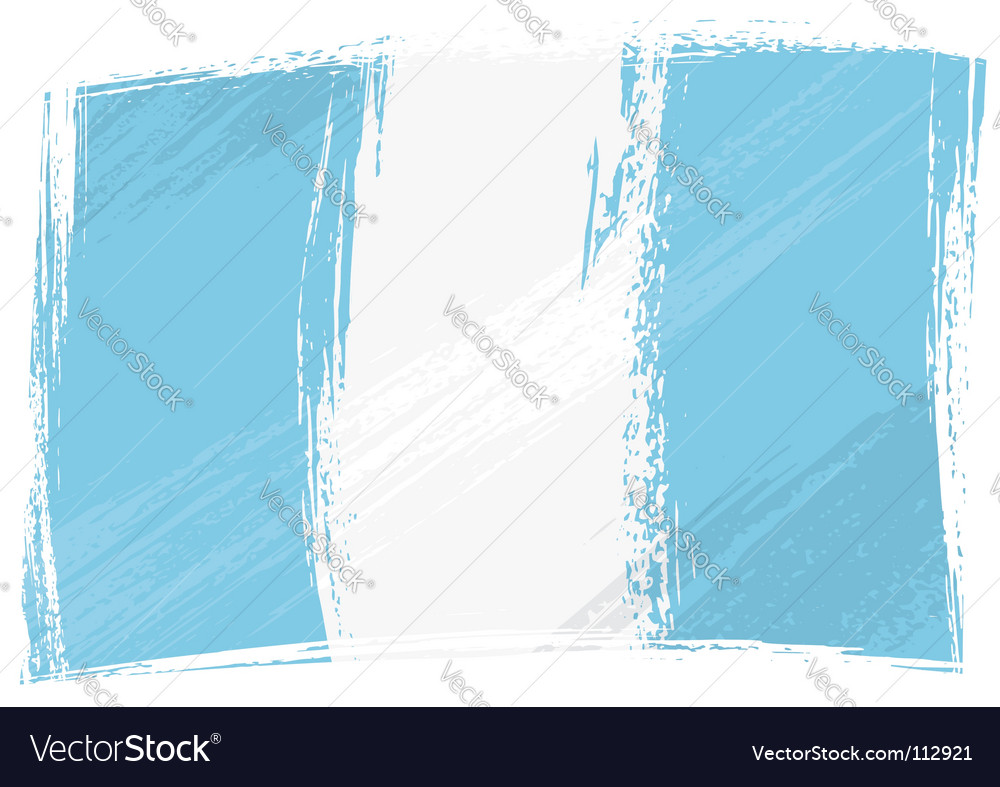 Grunge guatemala flag vector | Price: 1 Credit (USD $1)