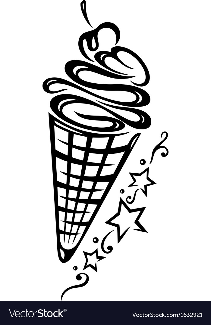 Ice cream vector | Price: 1 Credit (USD $1)