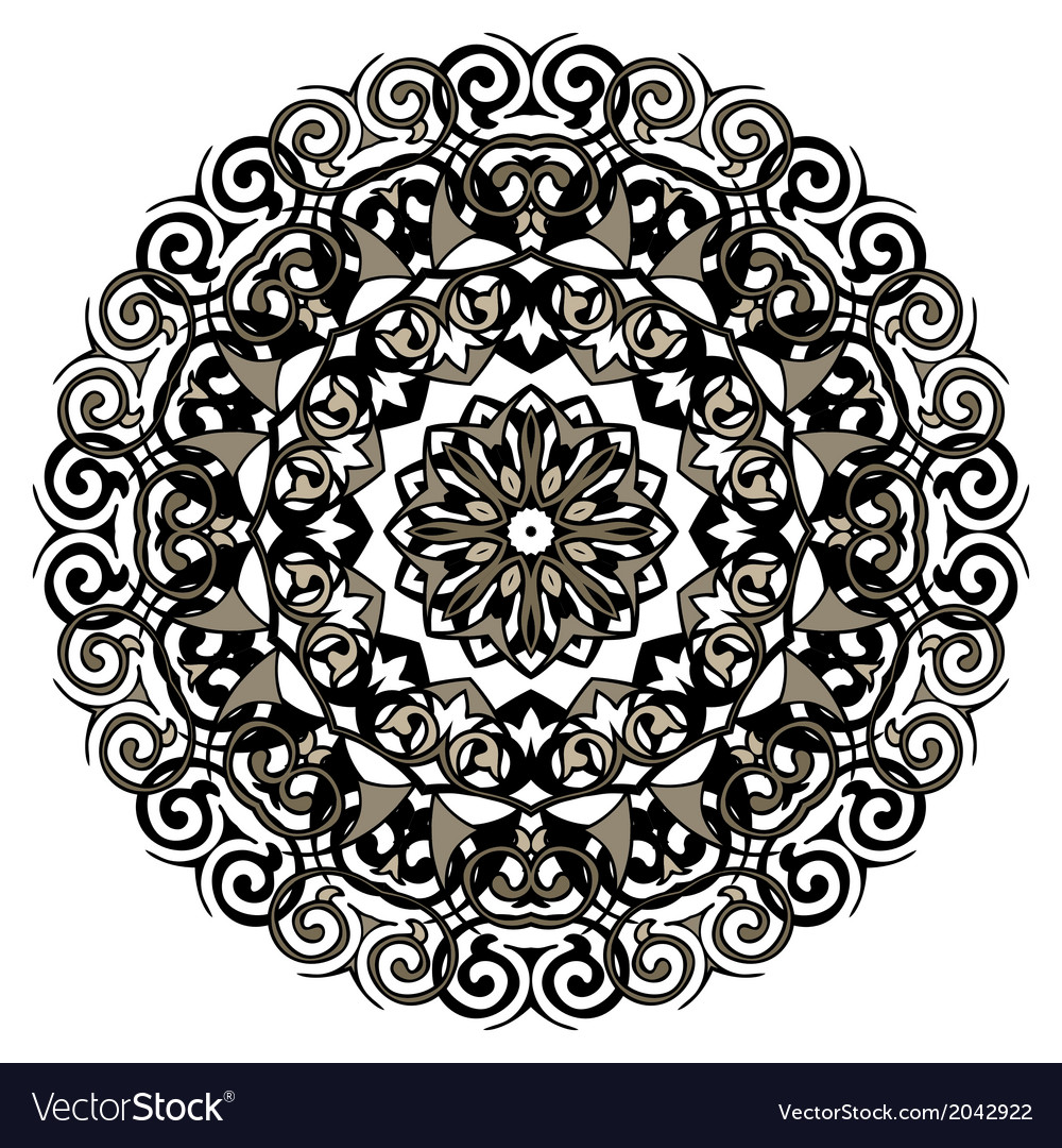 Lace mandala vector | Price: 1 Credit (USD $1)