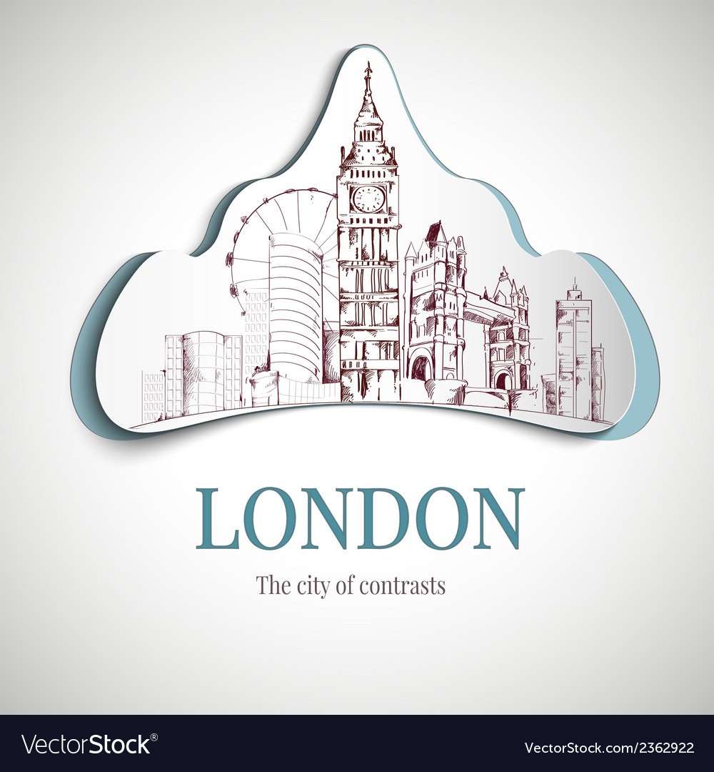 London city emblem vector | Price: 1 Credit (USD $1)