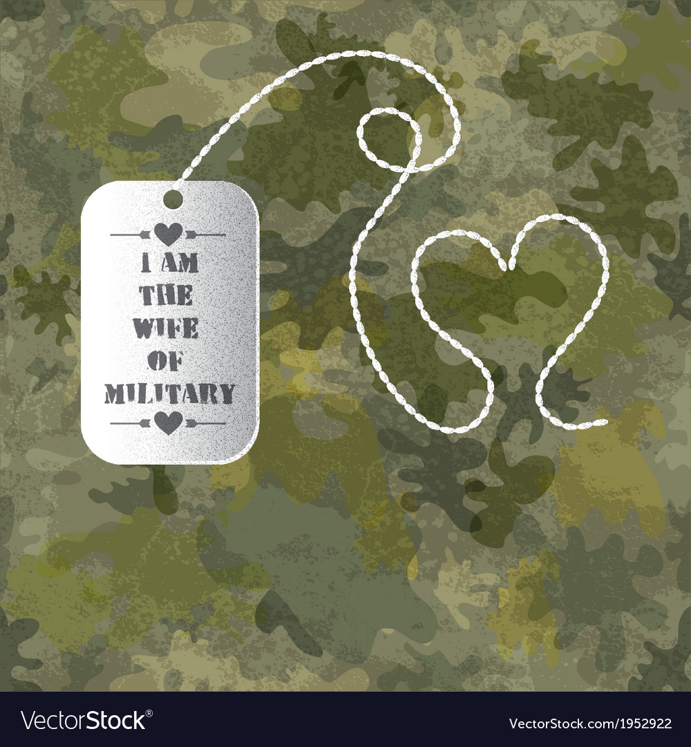 Military seamless background with soldier badge vector | Price: 1 Credit (USD $1)