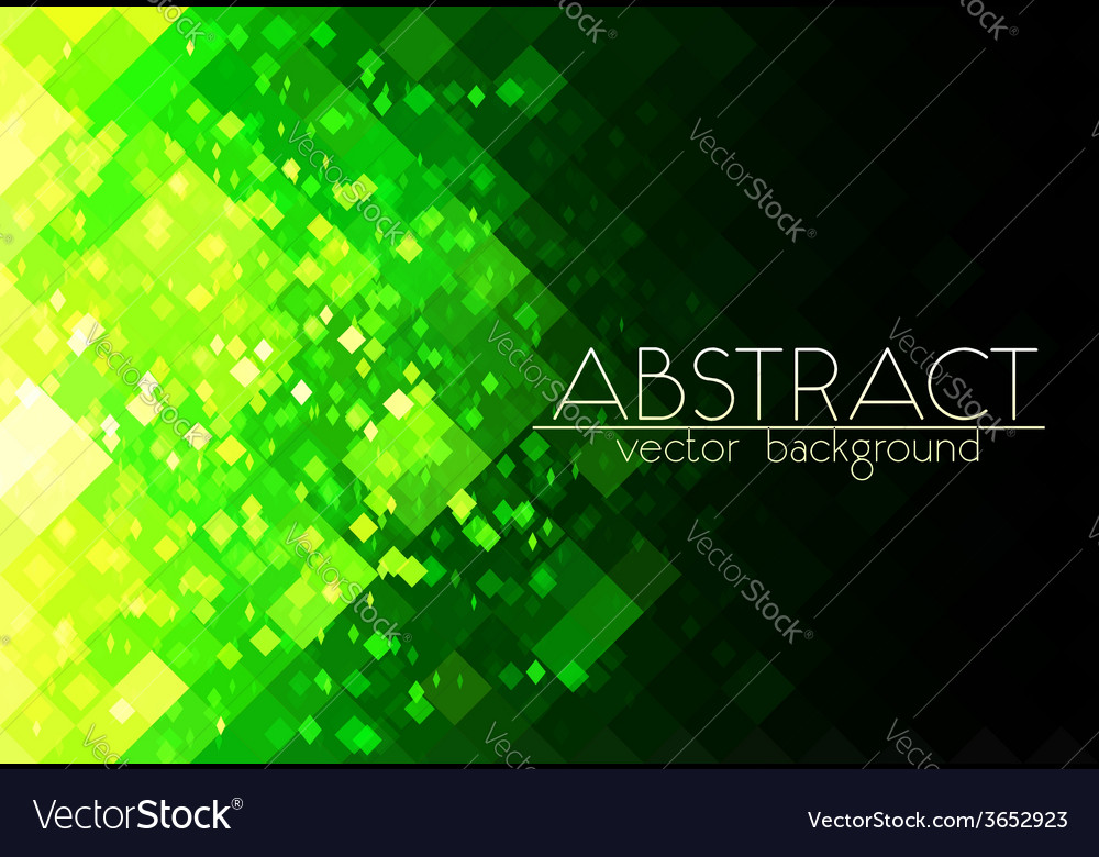 Bright green grid abstract horizontal background vector | Price: 1 Credit (USD $1)