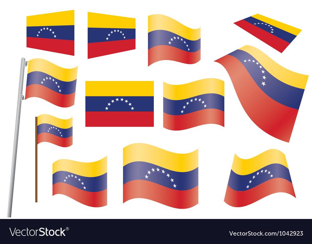 Flag of venezuela vector | Price: 1 Credit (USD $1)