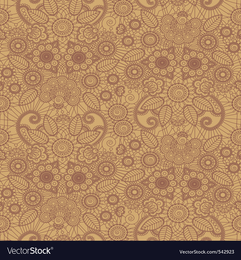Henna pattern vector | Price: 1 Credit (USD $1)